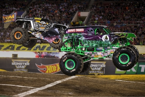 Get your Monster Jam tickets now for a city near you! (Photo credit: Feld Entertainment.)