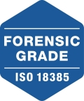 This logo will appear on products manufactured in alignment with the ISO 18385 standard. (Graphic: Business Wire)