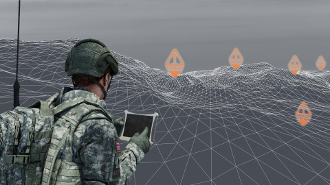 BAE Systems' work on DARPA's new handheld electronic warfare technology is designed to provide better tactical situational awareness for superior troop protection and a greater ability to defeat hostile threats. (Photo: BAE Systems)