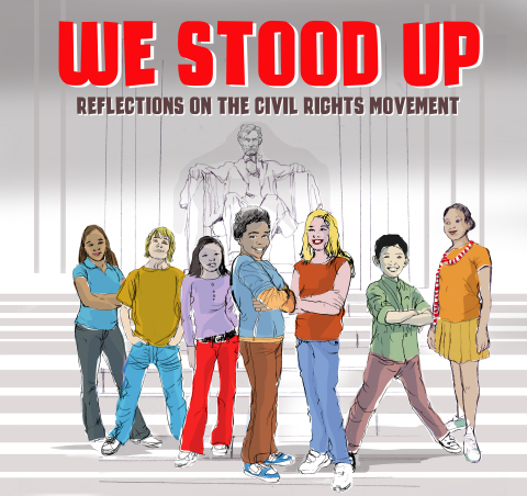 We Stood Up: Reflections on the Civil Rights Movement album cover (Graphic: Business Wire)