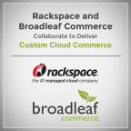 Rackspace and Broadleaf Commerce Announce Collaboration (Graphic: Business Wire)
