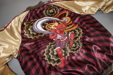 Fūjin Jacket Back Embroidery (Photo: Business Wire)