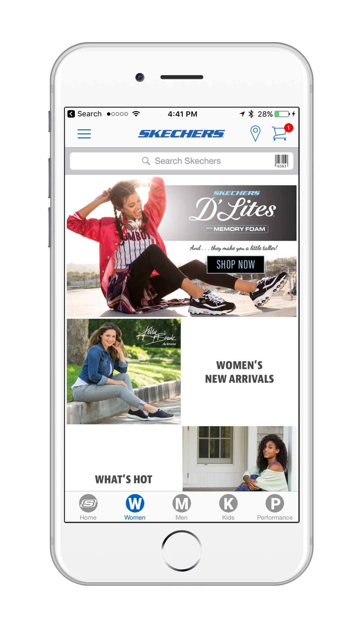SKECHERS Launches Mobile App to