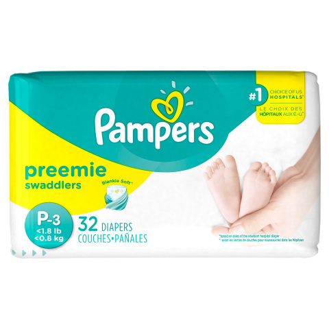 Pampers Delivers its Smallest Diaper Ever, Designed in Partnership with NICU Nurses. (Photo: Business Wire)