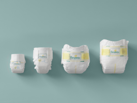 New Pampers Preemie Swaddlers Line-Up, Designed for Premature Babies' Care and Comfort. (Photo: Business Wire)