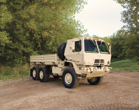 Since 2009, Oshkosh has achieved record quality performance on the FMTV program. (Photo: Business Wire)