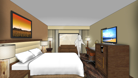DoubleTree by Hilton Kicks Off First Property in Lawrence, Opening Its Doors to Kansas Football Fans and University Visitors (Photo: Business Wire)