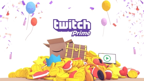Twitch and Amazon announced Twitch Prime at TwitchCon 2016 (Graphic: Business Wire)