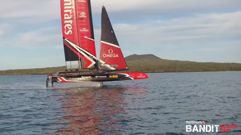 Emirates Team New Zealand is the first partner to deploy the TomTom Bandit Software Development Kit  ...