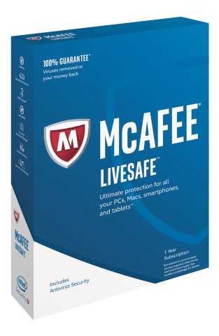 McAfee LiveSafe, one of the key products in this year's consumer security lineup, provides users with cross-device protection. (Source: Intel Security)