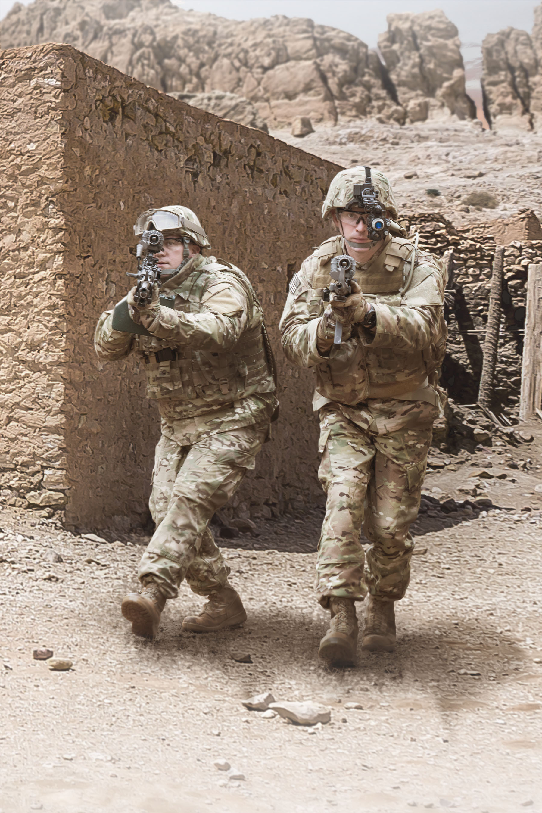 BAE Systems' new FWS-I thermal weapon sight allows soldiers to conduct surveillance and acquire targets in any light or weather conditions, increasing mission safety and effectiveness. (Photo: BAE Systems)