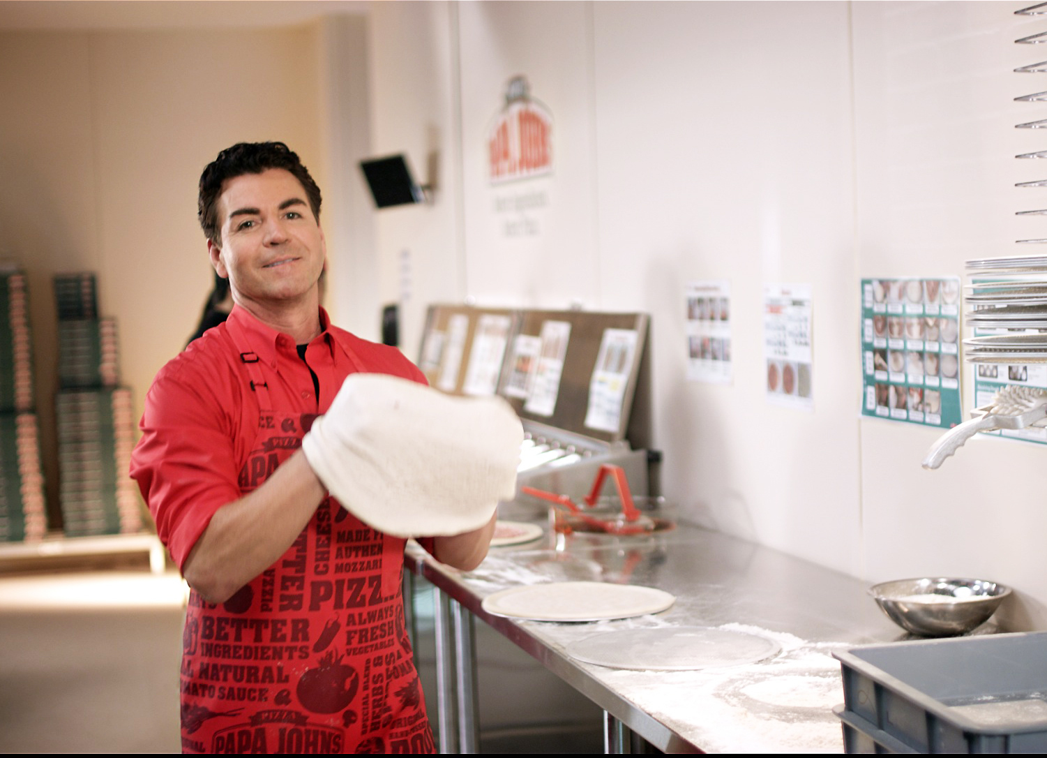 Papa John's: Better Ingredients. Always Had Them. Always Will. (Photo: Business Wire)