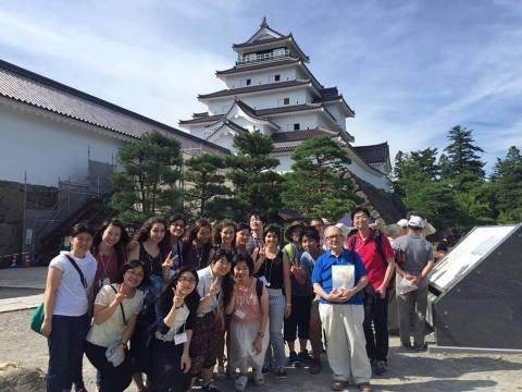 Memorial shot in Tsurukejo (Photo: Business Wire)