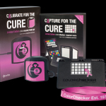 CAPTURE & CALIBRATE FOR THE CURE: During Breast Cancer Awareness Month X-Rite supports the Breast Cancer Research Foundation (BCRF) with 20% of sales from the PINK ColorMunki Display & PINK ColorChecker Passport Photo limited collector-editions. BCRF is the highest rated breast cancer organization in the US. The Cure's PINK ribbon is imprinted on the X-Rite ColorChecker Passport case & PINK Lanyard. The ColorMunki features side panels in the signature PINK recognized around the globe as a symbol of efforts to find the CURE for breast cancer. X-Rite Delivers Perfect Color from Capture to View to Edit with Accurate Color The First Time, Every Time. (Photo: Business Wire)