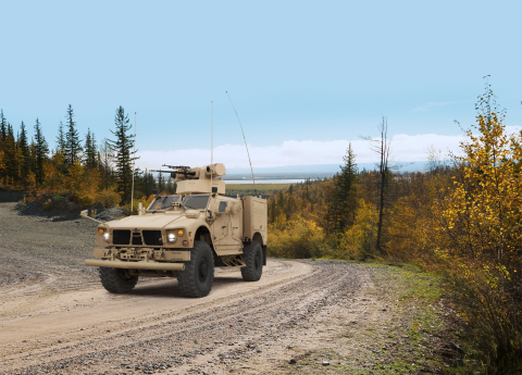 Oshkosh integrated advanced weapons, C4ISR suites into M-ATV to bring new capabilities to the mission. (Photo: Business Wire)