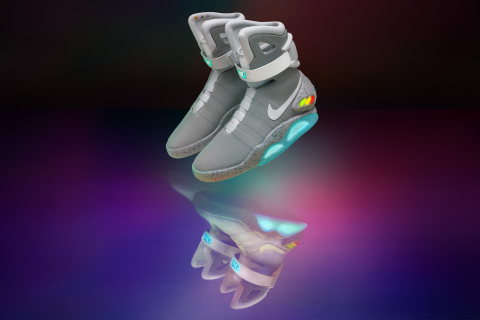 Nike Announces Limited Edition Release of the Nike Mag Shoe. (Photo: Business Wire)