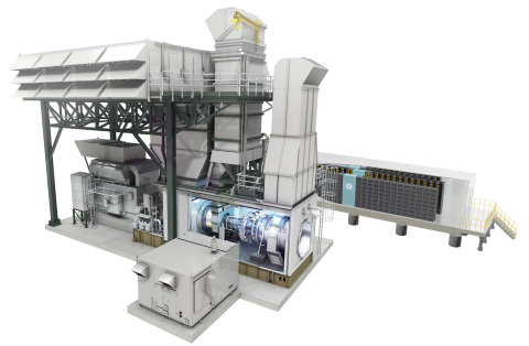 GE unveils world's first battery storage & gas turbine hybrid with Southern California Edison (Photo: General Electric)