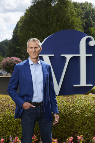 Steve Rendle to Become CEO of VF Corporation on January 1, 2017 (Photo: Business Wire).