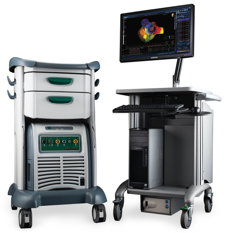 The St. Jude Medical™ EnSite Precision™ cardiac mapping system transforms procedures for patients with cardiac arrhythmias with intuitive automation, flexibility and accuracy. (Photo: St. Jude Medical, Inc.)