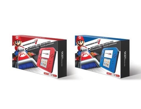 Nintendo announces Luigi accidentally swaps the colors of the Nintendo 2DS System  (Photo: Business Wire)