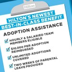 Hilton Introduces Best-in-Industry Adoption Assistance Program (Graphic: Business Wire)