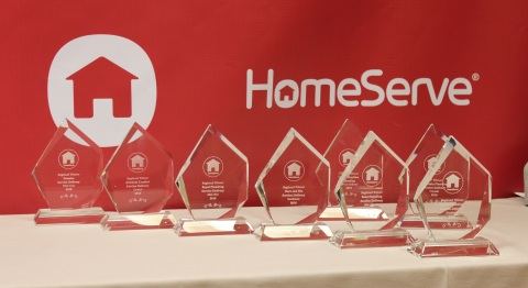 HomeServe 2016 Top Contractor Awards (Photo: Business Wire)