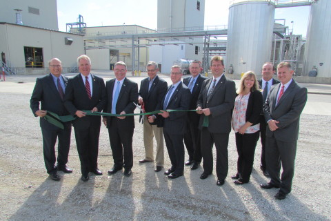 Renewable Energy Group celebrated the completion of $34.5 million in upgrades to its Danville, IL bi ...