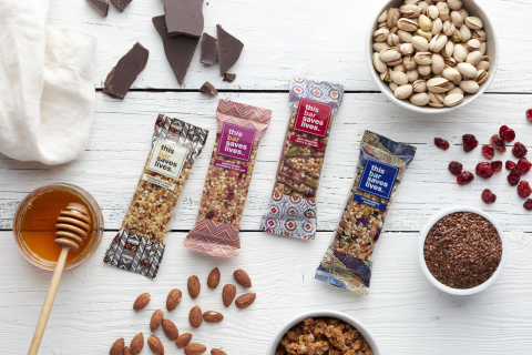 TBSL bars with natural ingredients. (Photo: Business Wire)