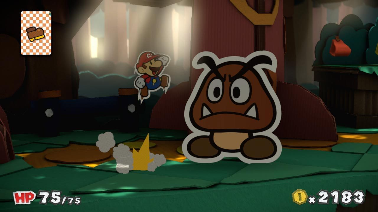 In Paper Mario: Color Splash, a mystery's afoot on Prism Island and only Mario can solve it by restoring the land's vanishing colors with his new Paint Hammer. (Photo: Business Wire)