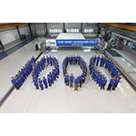 Xerium's Kunshan Team Celebrates 1000th Press Felt (Photo: Business Wire)