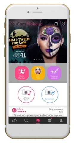 Must Have Halloween 2016 Beauty Look Collection Launched by YouCam Makeup and Ardell Lashes. (Graphic: Business Wire)