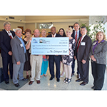 Regional elected officials joined representatives from The Cottonport Bank, FHLB Dallas, Avoyelles Society for the Developmentally Disabled (ASDD) and others at a check presentation today in Marksville, Louisiana. ASDD received $10,000 in Partnership Grant Program funds from The Cottonport Bank and FHLB Dallas. (Photo: Business Wire)