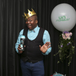 "Emmy-nominated actor Tituss Burgess shows off his secret to long-lasting freshness – Unstopables In-Wash Scent Boosters - at the Unstopables ""Fresh and Feisty Soiree."" Burgess is the star of the brand's new ""Fresh Too Feisty To Quit"" advertising campaign. For more information, visit the Unstopables social media channels and www.unstopables.com (Photo: Business Wire)"