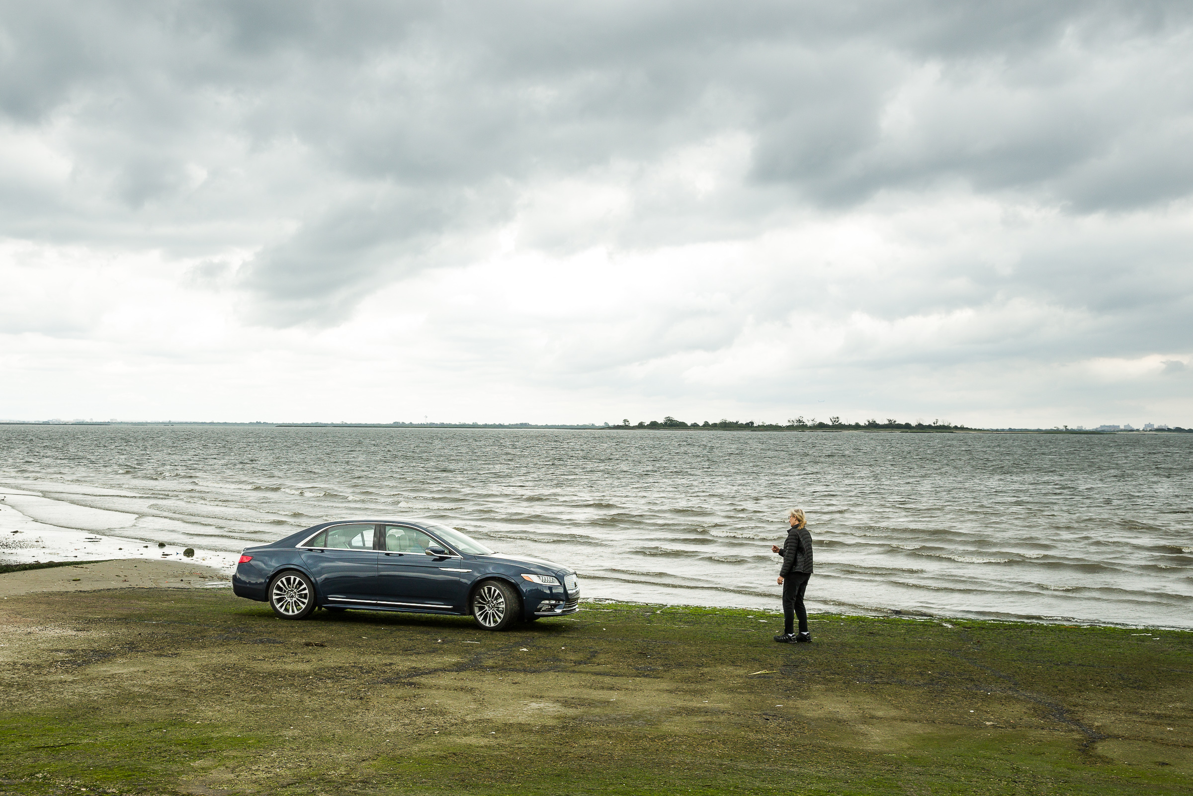 Acclaimed photographer Annie Leibovitz called on memories of childhood trips and the romance of the open road as inspiration for a series of photographs to introduce the highly anticipated 2017 Lincoln Continental. (Photo: Business Wire)