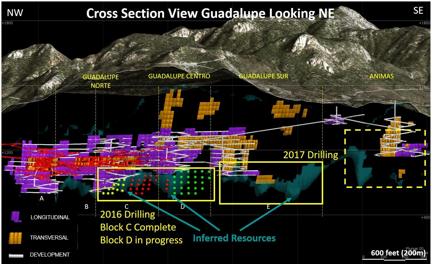 Guadalupe Looking Northeast (Graphic: Business Wire)