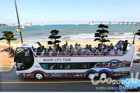 The Busan City Tour bus has been travelling to the city's popular tourist attraction sites including Haeundae, Gwangalli, Taejongdae, Oryukdo, Songdo, Centum City and Yonggungsa Temple. BUTI bus with Red Line (Busan Station - Haeundae), Blue Line (Haeundae - Yonggungsa Temple), Green Line (Yonghoman - Oryukdo), Jumbo Bus for Taejongdae and Oryukdo, and a night view tour by a double-decker bus is currently being operated. (Photo: Business Wire)