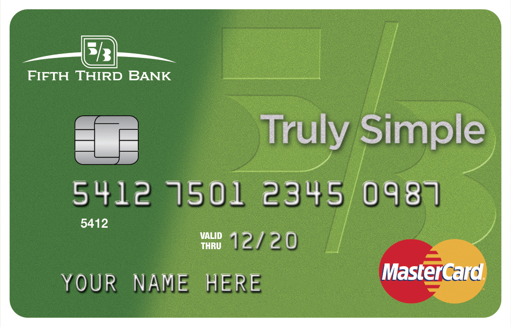 Fifth Third's new Truly Simple card offers a low introductory rate and no surprise fees. (Photo: Business Wire)