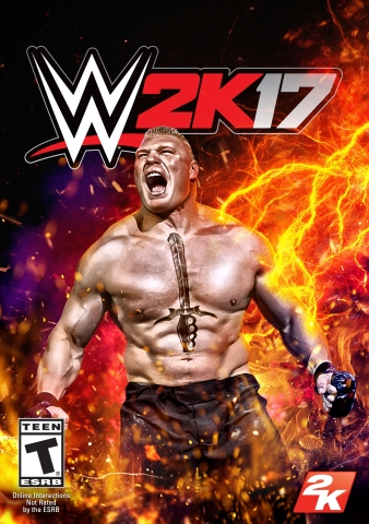 2K today announced that WWE® 2K17, the newest addition to the flagship WWE video game franchise, is now available worldwide for the PlayStation®4 and PlayStation®3 computer entertainment systems, Xbox One and Xbox 360. (Graphic: Business Wire)