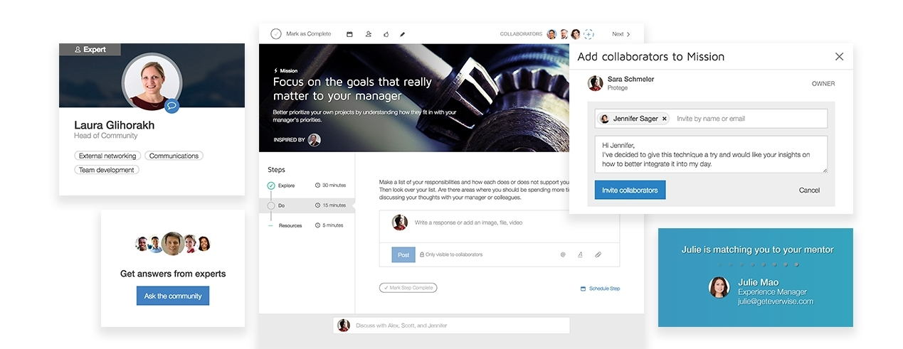 The Everwise Enterprise Social Learning Platform is a completely new approach to scalable and effective talent development. (Graphic: Business Wire)
