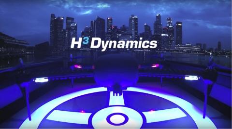 H3ダイナミクスが設計したドローンボックス・スマート・ドローン・ネスティング・ステーション。ブイキューブロボティクスを通じて、日本市場で間もなく展開。(写真:ビジネスワイヤ)