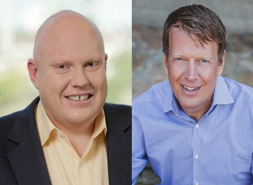 Left to right - John Tait and George Zirkel of TNS (Photo: Business Wire)