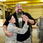 WWE Superstar Big Show greets our nation's troops. (Photo: Business Wire)