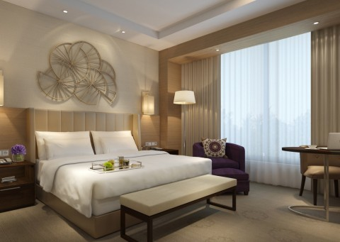 Hyatt Regency Tashkent offers 300 guestrooms, including 52 suites. (Photo: Business Wire)