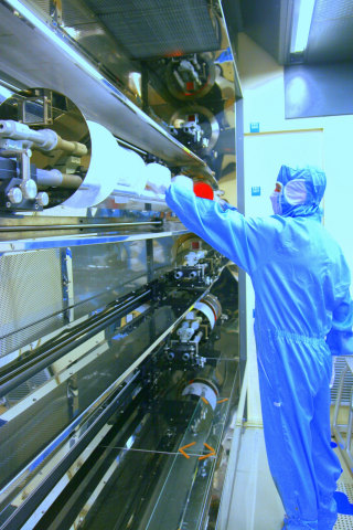 IPDiA cleanroom operation (Photo: Business Wire)