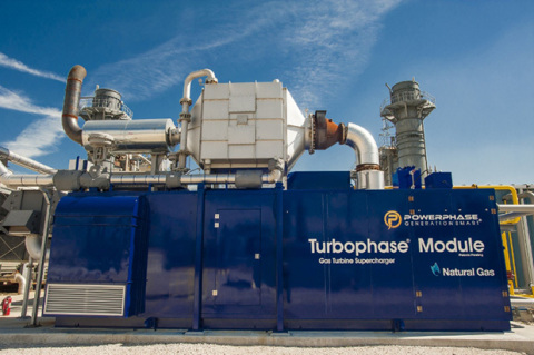 Powerphase, a developer of upgrades for power plants, has been issued a patent from the U.S. Patent and Trademark Office for its Turbophase system, which solves the fundamental problem faced by all power plant combustion turbines. (Photo: Business Wire)