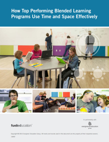 FuelEd White Paper: How Top Performing Blended Learning Programs Use Time and Space Effectively (Graphic: Business Wire)