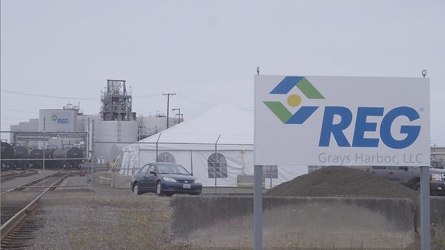 REG Grays Harbor is REG's largest biorefinery and one of 11 biomass-based diesel plants across the United States that make REG the leading North American producer of advanced biofuel with a total nameplate capacity of 452 million gallons annually. As part of REG's 10-year anniversary as an independent company, view this video and more at REG's YouTube channel.