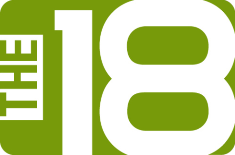 Image result for the18 logo