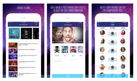 Lip Sync Battle app (Photo: Business Wire)