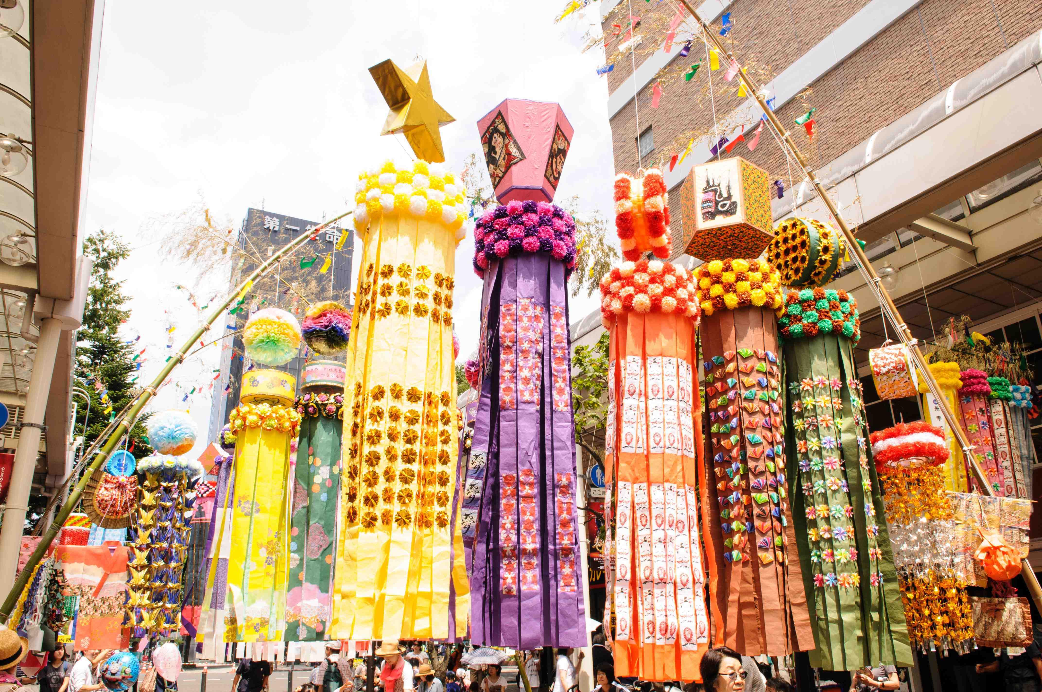Sendai Tanabata (Photo: Business Wire)